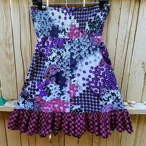 No Boundaries Dresses - No Boundaries Floral Paisley Swimsuit cover-up